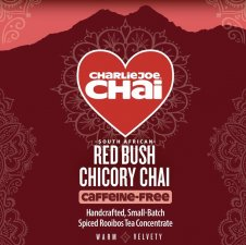 CharlieJoe Chai Red Bush Chicory (Caffeine-free Concentrate) - 32 oz.