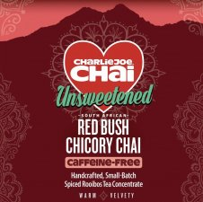 CharlieJoe Chai Unsweetened Red Bush Chicory (Caffeine-free Concentrate) - 32 oz.