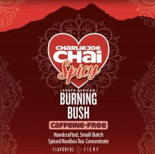 CharlieJoe Chai Burning Bush (Spicy Caffeine-free Concentrate) - 32 oz.